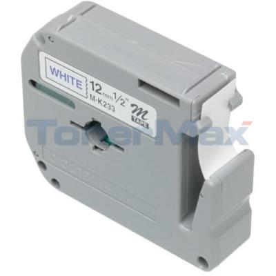 BROTHER P-TOUCH LABELERS BLUE/WHITE 1/2IN WIDTH